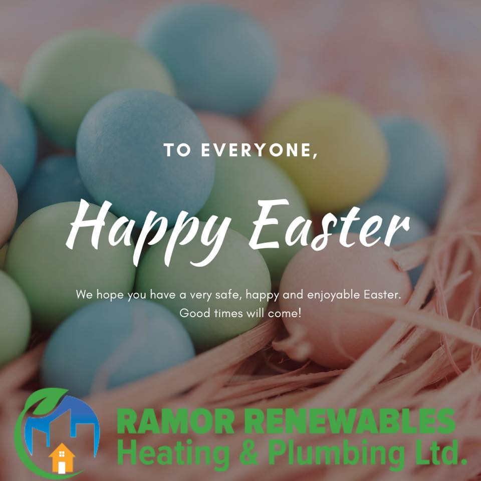 Happy EAster from Replace boiler | need a new boiler in Dublin call us